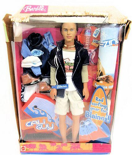 【中古】バービー/CALiGuy Blaine Dollwith Surfing Accesorias