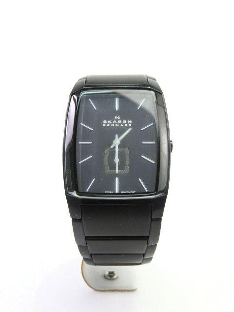 【送料無料】SKAGEN/スカーゲン クォーツ腕時計 【中古】