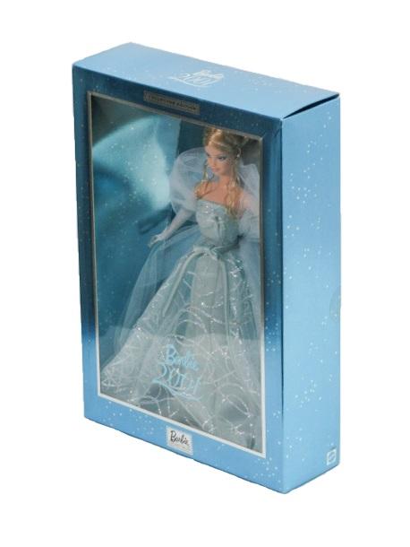 送料無料 未開封品 未使用品 MATEL/マテル Barbie COLLECTIBLES Doll 2001 バービー コレクティブルズ ドール 2001 中古