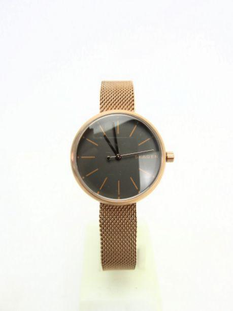 送料無料 SKAGEN/スカーゲン シグネチャーSKW2645 クォーツ腕時計 中古