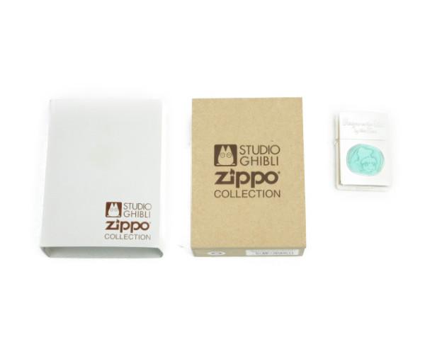 送料無料 未使用品  Zippo ライター スタジオジブリ 崖の上のポニョ 中古