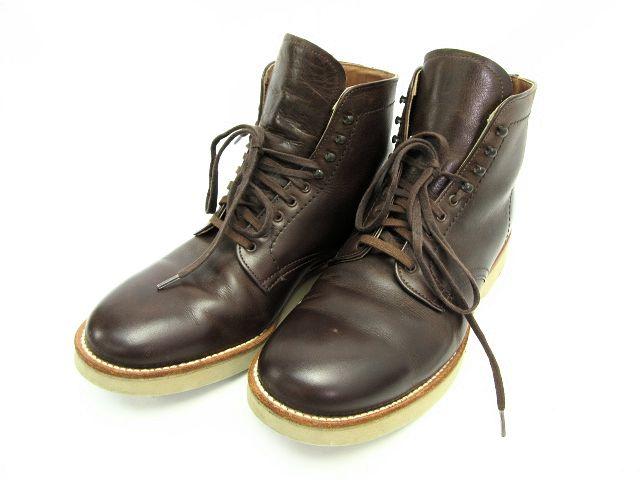 送料無料 ALDEN/オールデン 4586 レザーワークブーツ(約26cm) 中古