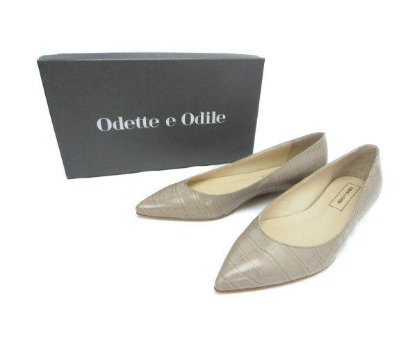 Odette e odile/オデットエオディール OID ベーシックポインテッド CT20↑ (23cm) 中古