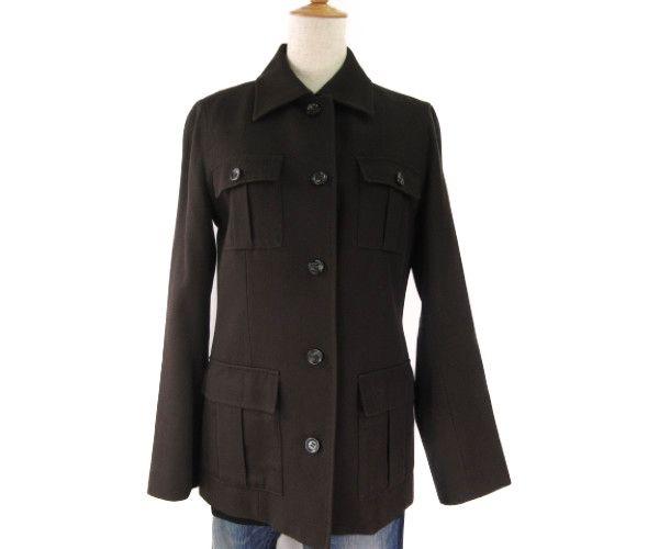 【送料無料】 BURBERRY LONDON/バーバリー ロンドン シャツジャケット (40サイズ) 中古