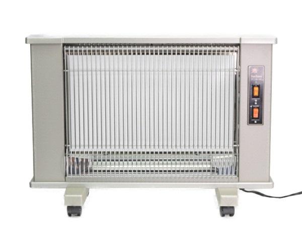 日本遠赤外線 遠赤外線輻射式暖房器 サンルーム 速暖DX カーボンヒーター付パネルヒーター 中古