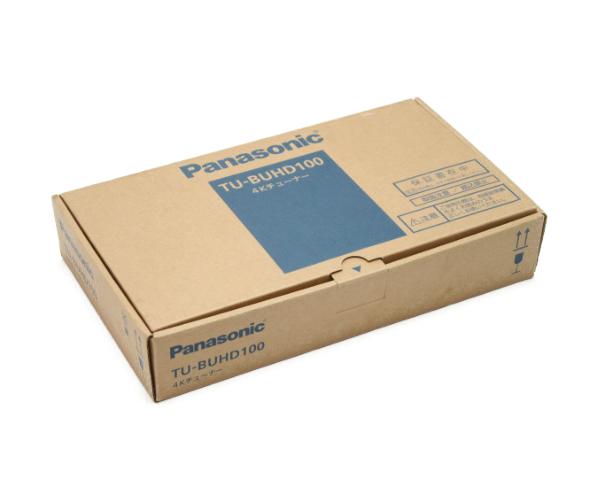 未使用品 送料無料 Panasonic/パナソニック 4Kチューナー TU-BUHD100 中古