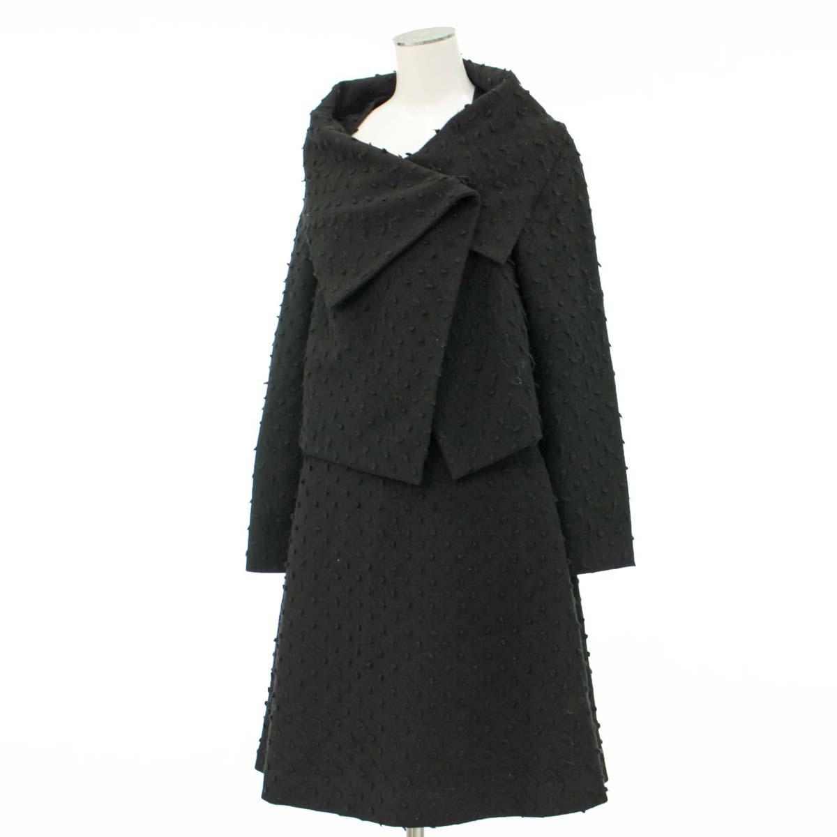 【中古】★ヴィヴィアンウエストウッド スカートスーツ サイズ2★  ブラック/黒/14226-CH0818