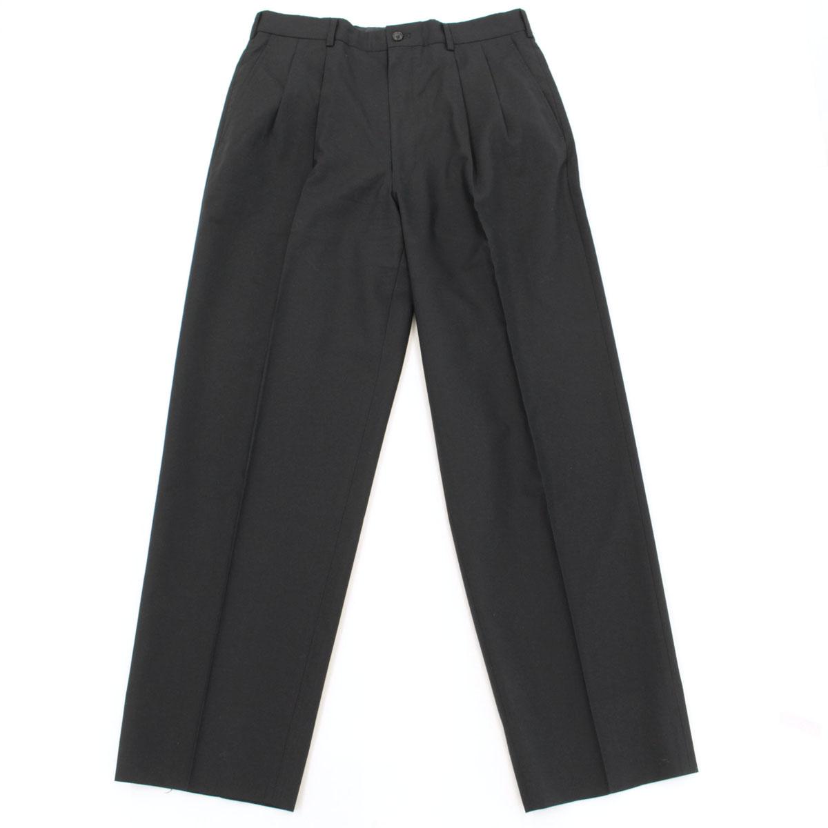 コムデギャルソン オムドゥ シングル3Bジャケット パンツスーツ Lサイズ AD2001black 黒 ブラック ウール100日本製 25105 NI0419CedorxBW