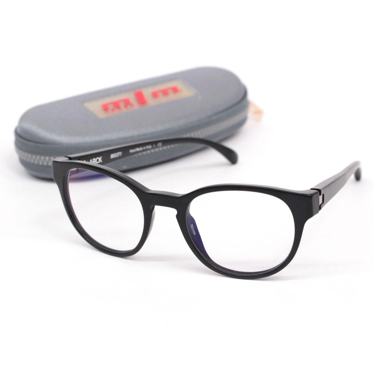 【中古】☆alain mikli アランミクリ S+ARCK BIOCITY SH3009-0002 49mm 眼鏡 バネ蝶番☆  black /黒/ブラック/メガネ/26041-RH0419