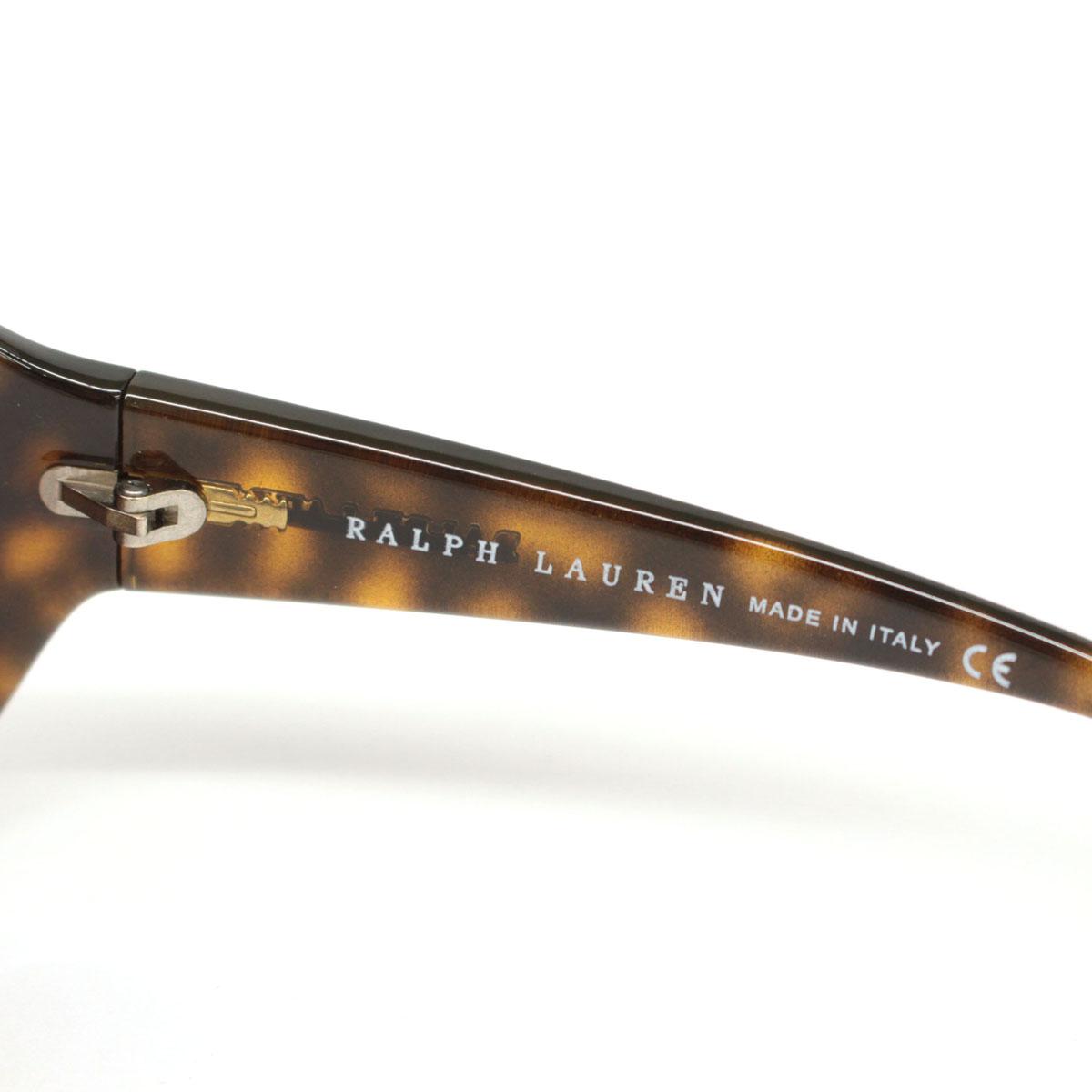 RALPH LAUREN ラルフローレン サングラス ケース・箱付き RL8009 5057 13 62□18 115brown茶 ブラウン メンズ レディースeE9YbWH2DI