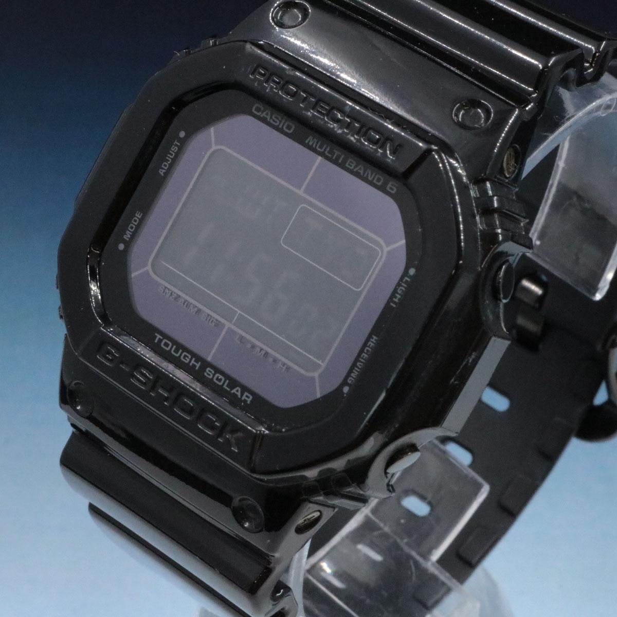 CASIO G-SCHOCK カシオ デジタル腕時計 GW-M5610BB ブラック Gショック 時計 大人気 電波 マルチバンド6 メンズ タフソーラ― 中古 ブランド買うならブランドオフ 小物