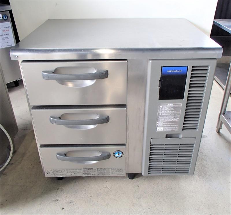 【中古】 ホシザキ ドロワー冷蔵庫 右ユニット仕様 RT-80DNF-R 2015年製 単相100V 幅800×奥行600×高800 (No.6752) 厨房機器 業務用 送料無料