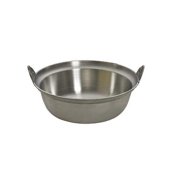両手鍋 円付鍋 アルミ鋳物 段付鍋 48cm アルミ 【メーカー直送/代引不可】