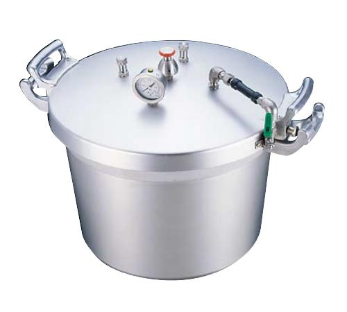 【 新品 】アルミ 業務用圧力鍋 40L 【メーカー直送/代引き不可】