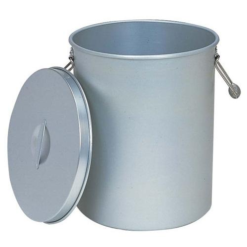 給食缶 アルマイト 刑務所用お茶タンク 蓋付 250-T 【メーカー直送/代引不可】
