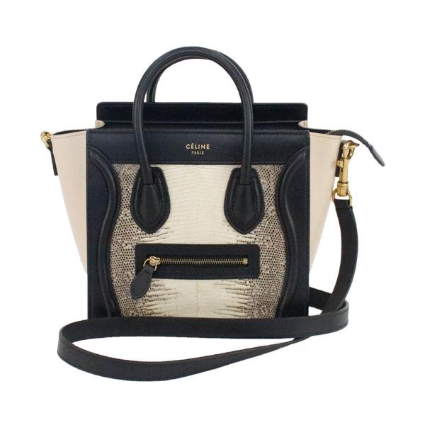 31ced5dacd83 recyclemartyasunagaten  Celine 2Way bag nano shopper Lady s black ...