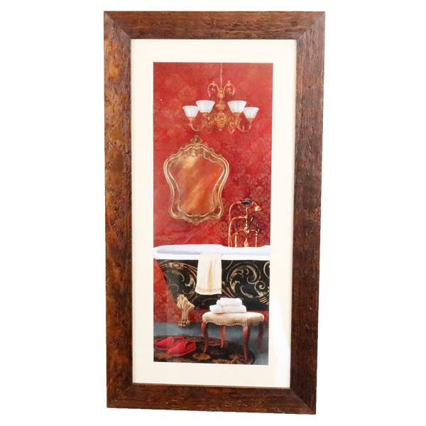 額絵 おしゃれ イタリー インテリア アート 美術 洋画 イタリア製 驚きの価格が実現 W34.5×D1.5×H64.5cm 即出荷 91664