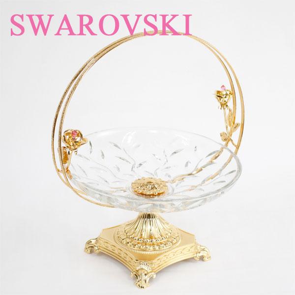 SWAROVSKI スワロフスキー コンポート ガラス 1657