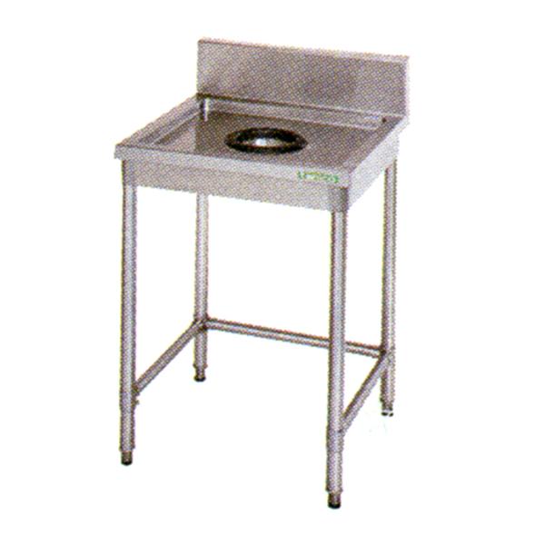 新品 タニコー ダストテーブル(バックガードあり) 600×600×800 TX-DT-60 送料別途