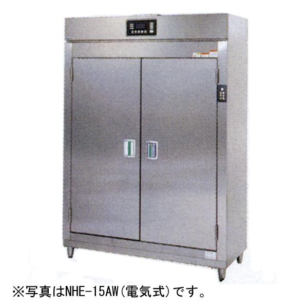 新品:タニコー 電気式 食器消毒保管庫(両面式) 1340×550×1900 NHE-15AW