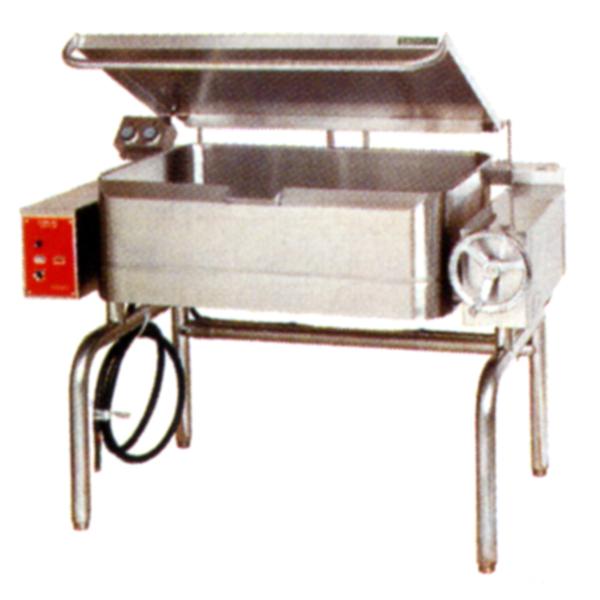 新品:タニコー 電気式ティルティングパンTE-100TP