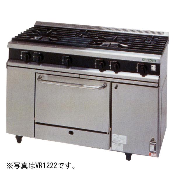 新品 タニコー ガスレンジ Vシリーズバーナ3口+オーブン1室(幅900×奥行600×高さ800)VR0921