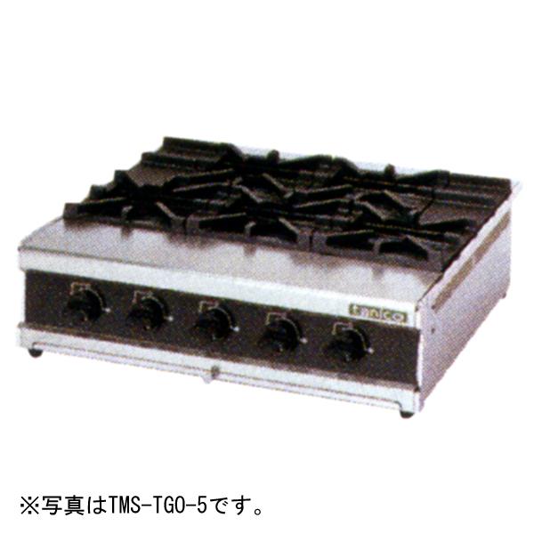 新品 タニコー 卓上ガスドンブリレンジ(3口コンロ) TMS-TGD-3