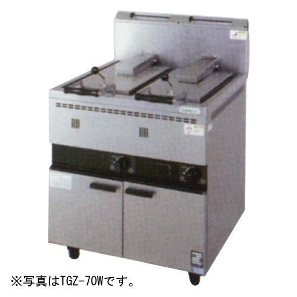 新品 タニコー ガス餃子グリラータイマー・ブザー付 TGZ-90DW(TB) 送料別途