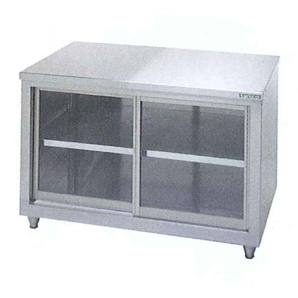 新品 タニコー ガラス戸式調理台(バックガードなし)1200×750×800 TX-WCT-120GANB
