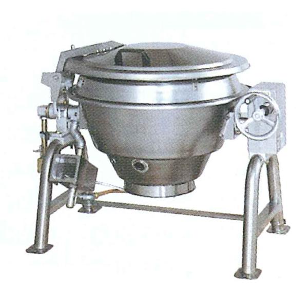 新品 タニコー ガス回転釜(ステンレス) マッチ点火方式幅1255×奥行900×高さ890(mm)TRK-055F