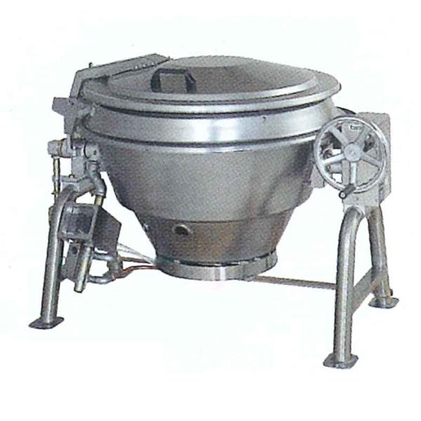 新品 タニコー ガス回転釜(ステンレス) 自動点火方式幅1390×奥行1035×高さ900(mm)TRK-110DF