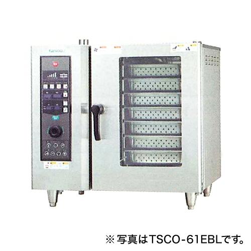 新品:タニコー電気式 ベーシックスチームコンベクションオーブン幅840×奥行730×高さ800(mm) 棚7段TSCO-61EBR