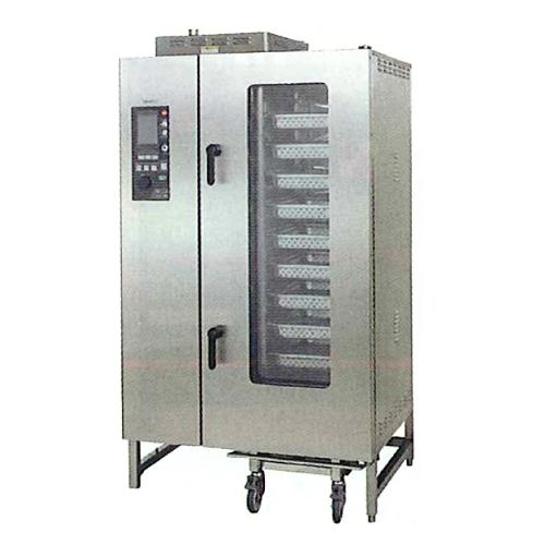 新品 タニコー電気式 デラックススチームコンベクションオーブン幅1100×奥行900×高さ1900(mm) 棚20段TSCO-20EDN