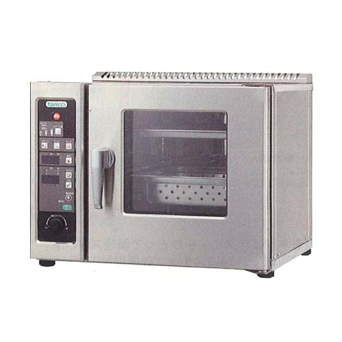 新品:タニコー電気式 小型卓上スチームコンベクションオーブン幅500×奥行470×高さ390(mm) 棚2段TSCO-2EB