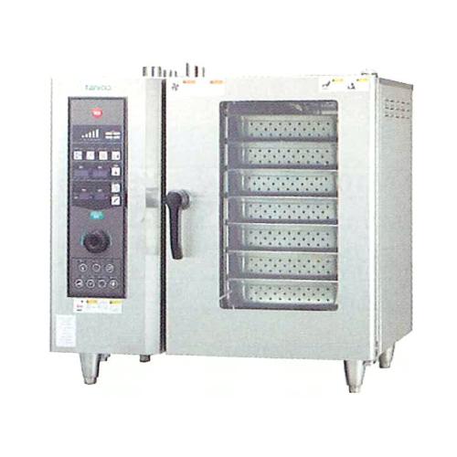 新品 タニコーガス式 ベーシックスチームコンベクションオーブン幅840×奥行730×高さ820(mm) 棚7段TSCO-61GBCL