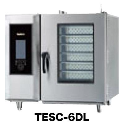 新品 タニコー電気式 デラックススチームコンベクションオーブン幅950×奥行750×高さ820(mm) 棚6段TESC-6D(R・L) 送料別途
