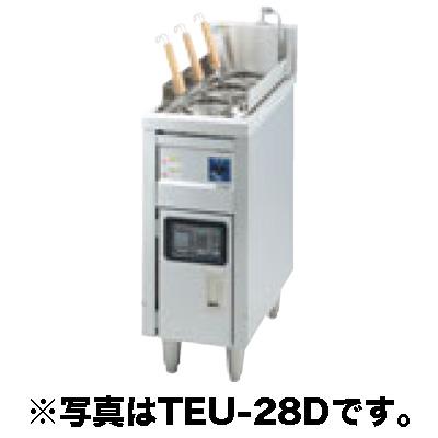 新品 タニコー 電気ゆで麺器 スタンダードタイプ(サーモスタット仕様) TEU-28A[受注生産]【 ゆで麺機 】【 ゆで釜 】 送料別途