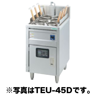 新品 タニコー 電気ゆで麺器 スタンダードタイプ(サーモスタット仕様) TEU-62 1槽式 9フリザル[受注生産]【 ゆで麺機 】【 ゆで釜 】 送料別途