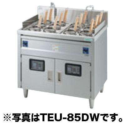 新品:タニコー 電気ゆで麺器 スタンダードタイプ(サーモスタット仕様) TEU-85W 2槽式 12フリザル[受注生産]【 ゆで麺機 】【 ゆで釜 】