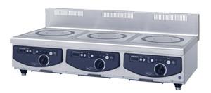 新品:ホシザキ電磁調理機器幅1200×奥行600×高さ280(mm) HIH-555C12E-1 受注生産品