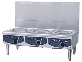 新品:ホシザキ電磁調理機器(IHコンロ) ローレンジタイプ幅1200×奥行600×高さ450(mm) HIH-555L12E-1