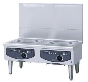 新品:ホシザキ電磁調理機器(IHコンロ) ローレンジタイプ幅900×奥行600×高さ450(mm) HIH-55LE-1