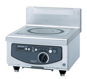 電磁調理機器(IHコンロ)   幅600×奥行750×高さ280(mm) HIH-5CDE-1 受注生産品   ホシザキ