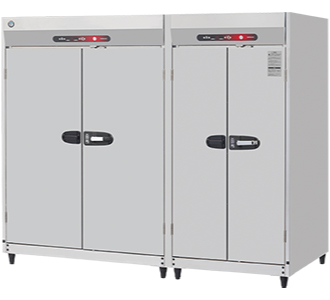 新品:ホシザキ衛生管理機器 消毒保管庫幅2200×奥行950×高さ1900(mm) HSB-50DPB3