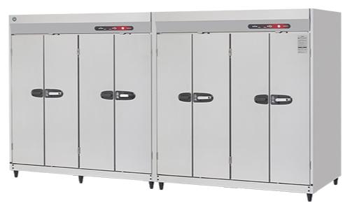 新品:ホシザキ衛生管理機器 消毒保管庫幅3500×奥行950×高さ1900(mm) HSB-80DB3