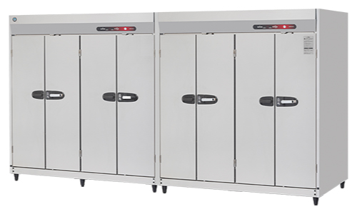 新品:ホシザキ衛生管理機器 消毒保管庫幅3500×奥行950×高さ1900(mm) HSB-80DPB3