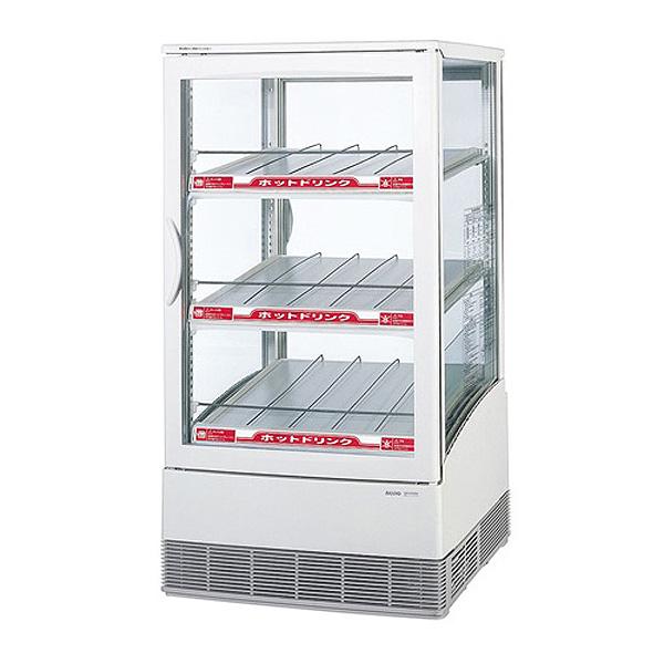 新品:パナソニック卓上型冷蔵ショーケース 冷蔵・温蔵パススルータイプ 68リットル幅470×奥行463×高さ880(mm)SMR-C75CH3