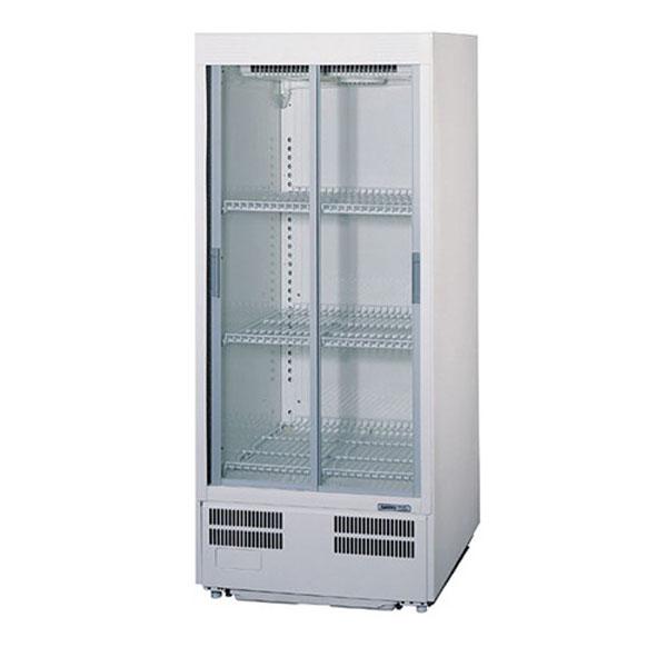新品:パナソニック冷蔵ショーケース 214リットル幅600×奥行550×高さ1395(mm)SMR-H138NB