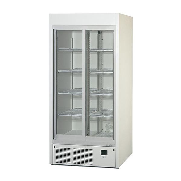 新品 パナソニックリーチイン冷蔵ショーケース スライド扉タイプ 536リットル幅900×奥行650×高さ1900(mm)SRM-RV319B