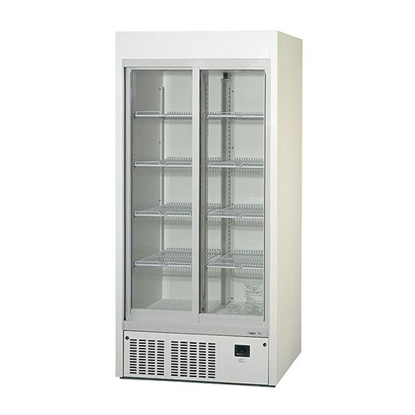 新品:パナソニックリーチイン冷蔵ショーケース スライド扉タイプ 310リットル幅900×奥行450×高さ1900(mm)SRM-RV319SB